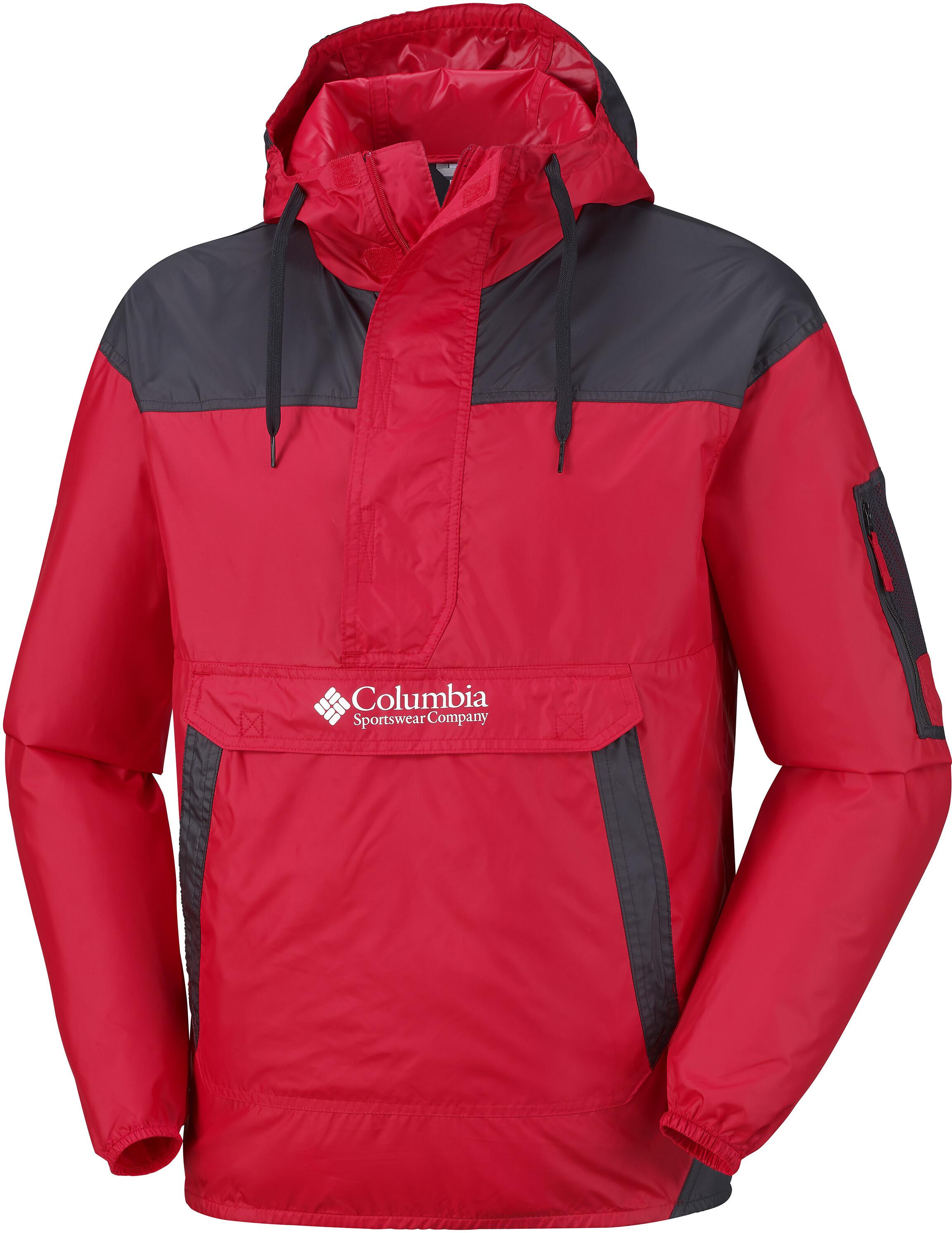 925acd0c Columbia Challenger Windbreaker Jacket Herrer, mountain red | Find ...